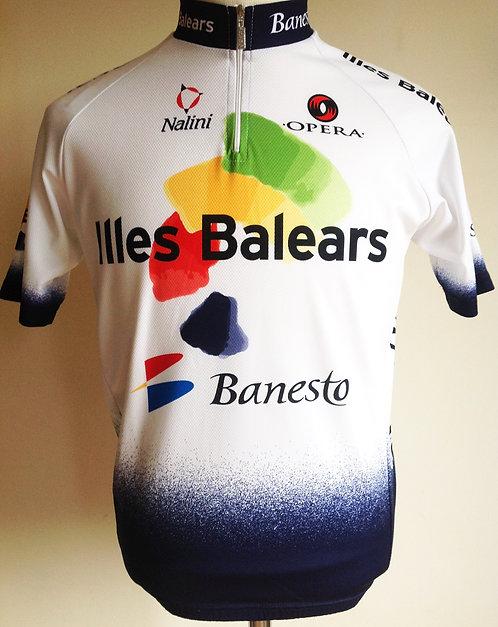Maillot cycliste équipe Illes Balears Banesto