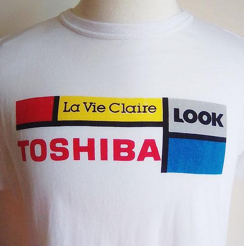 T-shirt vintage Toshiba Look La Vie Claire