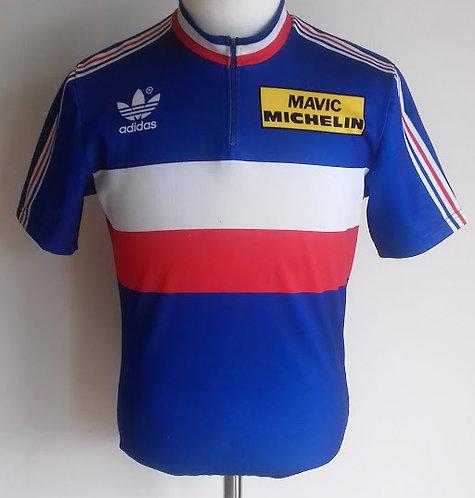 Maillot cycliste vintage Equipe de France