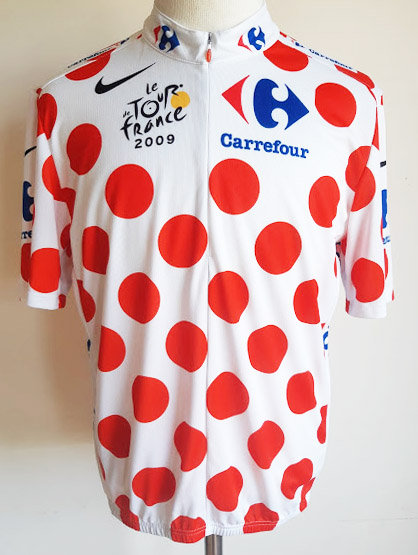 Maillot cycliste Meilleur Grimpeur Tour de France 2009
