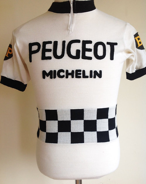Maillot cycliste Peugeot BP Michelin