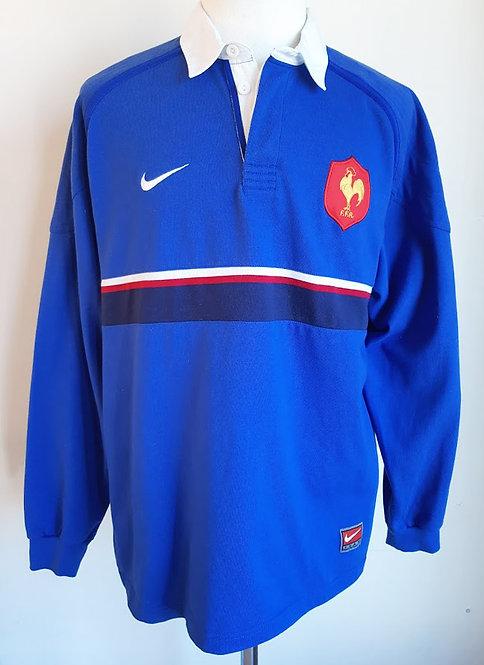 Maillot rugby vintage équipe de France