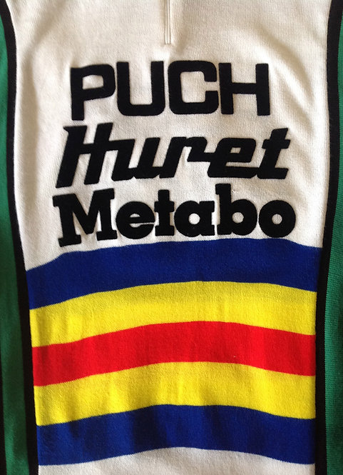 Maillot cycliste Puch Huret Metabo