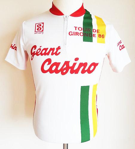 Maillot cycliste Tour de Gironde 1986