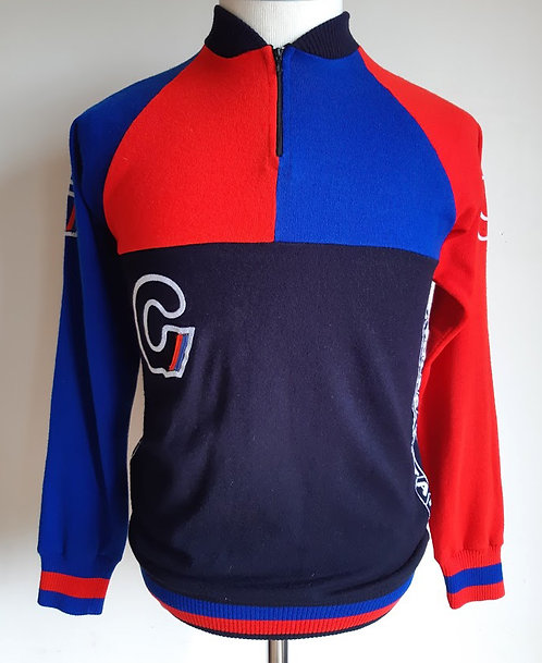 Maillot cycliste vintage Cycles Gitane