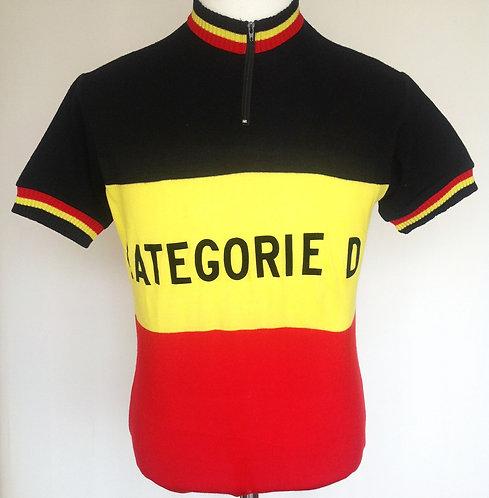 Maillot cycliste vintage Champion de Belgique