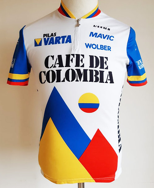 Maillot cycliste Café de Colombia Varta