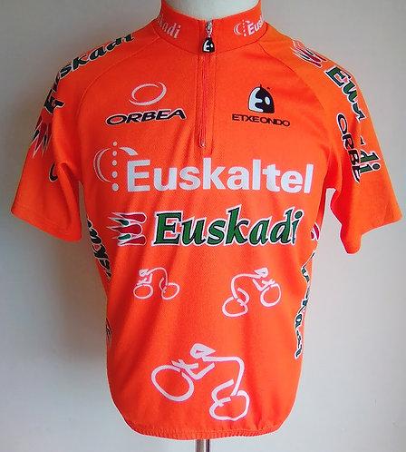 Maillot cycliste Euskaltel Euskadi