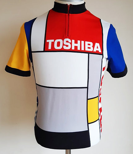Maillot cycliste Toshiba 1988