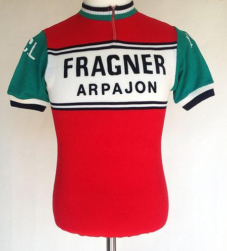 Maillot cycliste vintage Fragner Arpajon