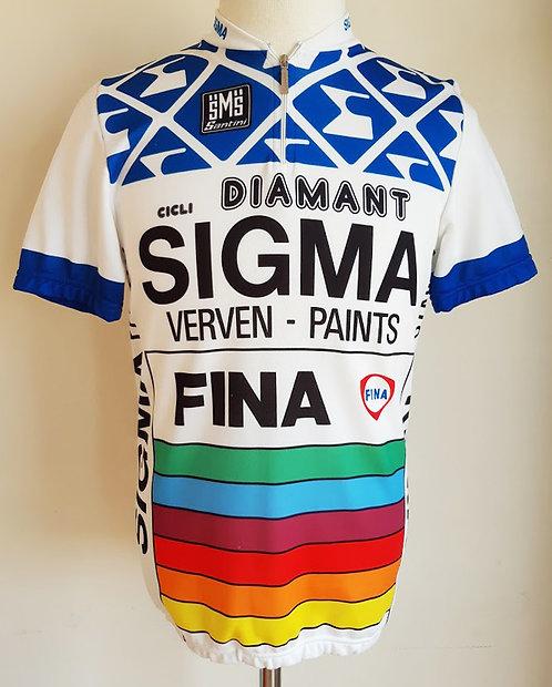 Maillot cycliste Sigma Fina