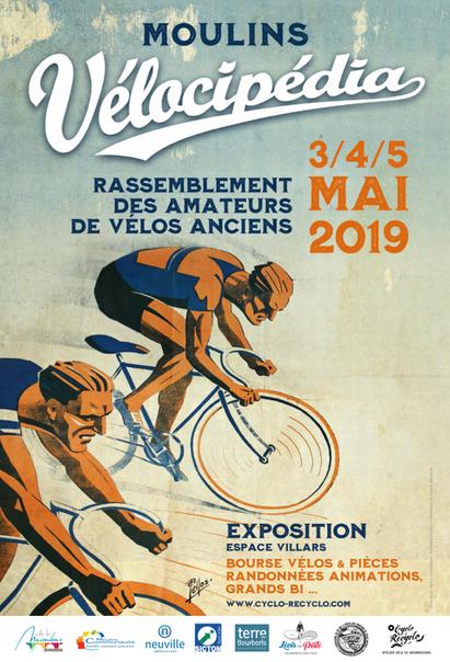Vélocipédia 3/4/5 Mai 2019.