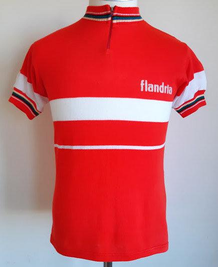 Maillot cycliste vintage Flandria