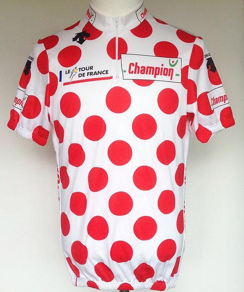 Maillot cycliste à pois Tour de France