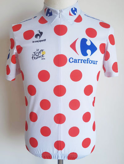 Maillot cycliste Meilleur Grimpeur Tour de France 2014