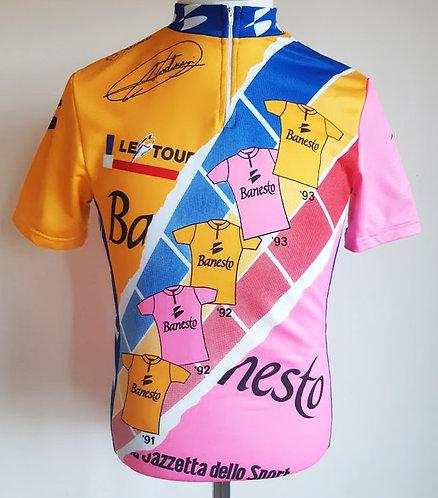 Maillot cycliste Miguel Indurain Banesto