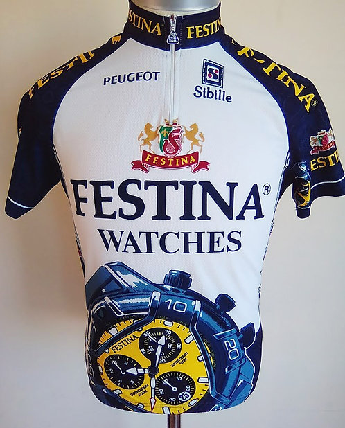 Maillot cycliste Festina