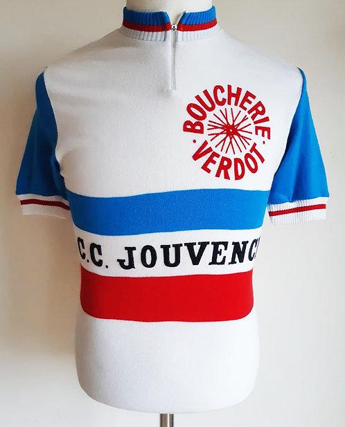 Maillot cycliste vintage C.C Jouvence