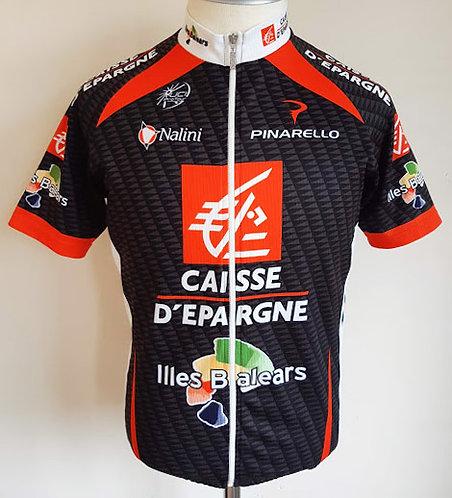 Maillot cycliste équipe Caisse d'Epargne Illes Balears