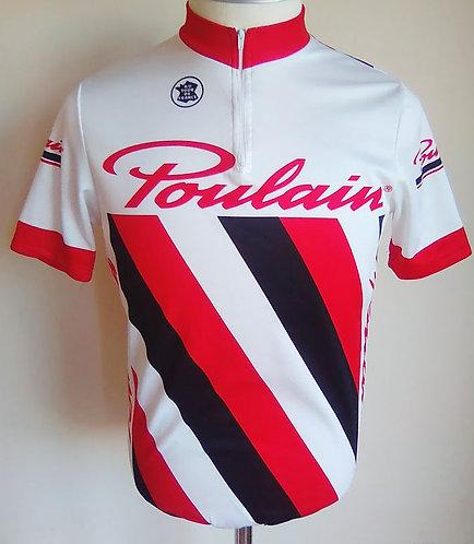 Maillot cycliste vintage Poulain