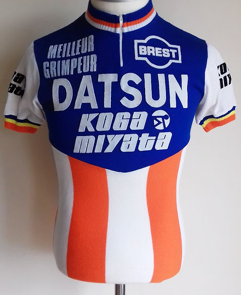 Maillot cycliste vintage Datsun Koga Miyata