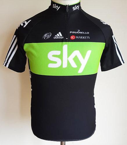 Maillot cycliste équipe Sky