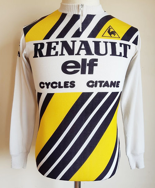 Maillot cycliste Renault Elf 1981