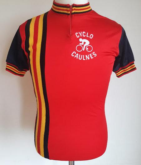 Maillot cycliste vintage Cyclo Caulnes
