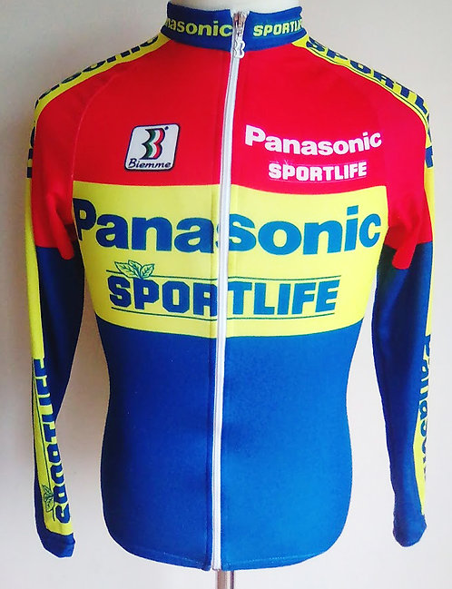 Maillot cycliste Panasonic Sportlife