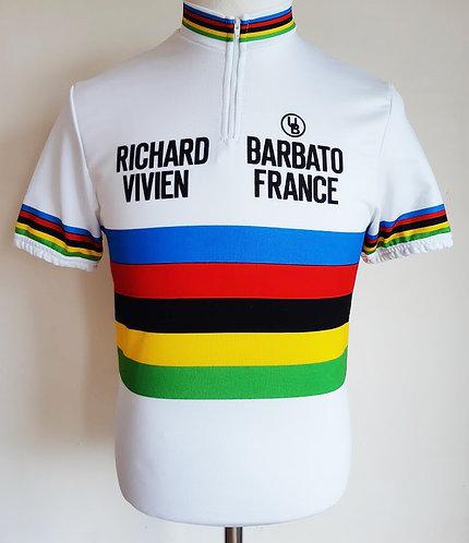 Maillot Champion du Monde Richard Vivien