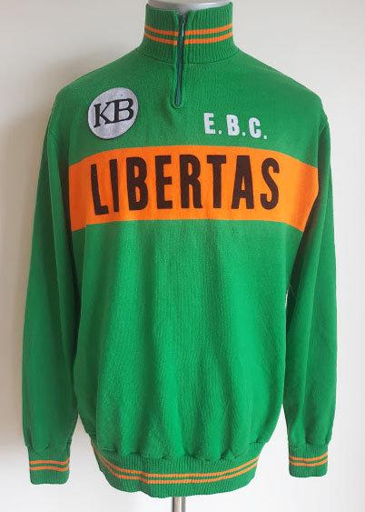 Maillot cycliste vintage E.B.C Libertas