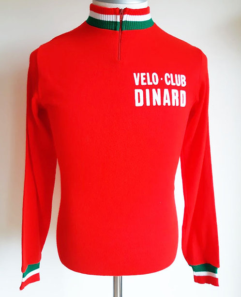 Maillot cycliste vintage Vélo Club Dinard