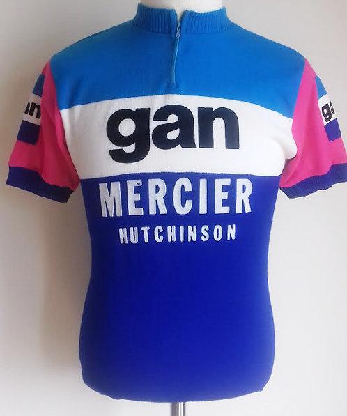 Maillot cycliste Gan Mercier Hutchinson Tour de France 1976