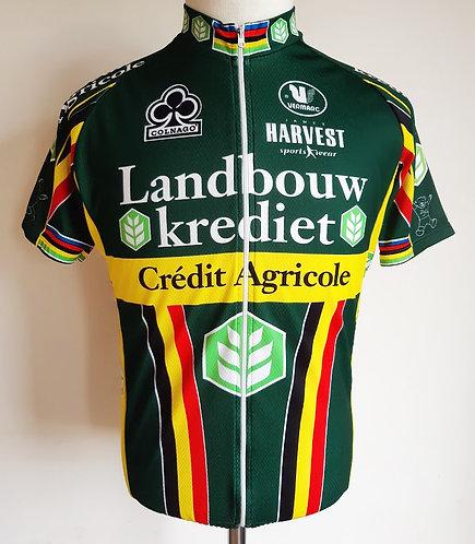 Maillot cycliste Landbouw Krediet Colnago