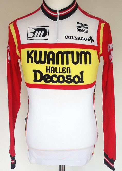 Maillot cycliste Kwantum Hallen Decosol