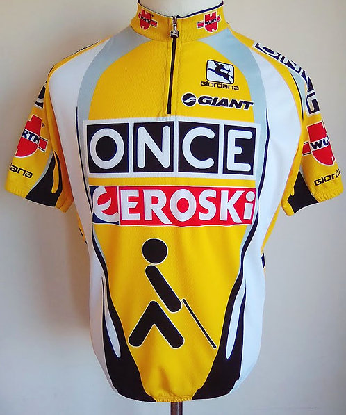 Maillot cycliste Once Eroski