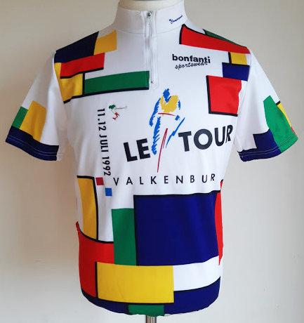 Maillot Valkenburg Tour de France 1992