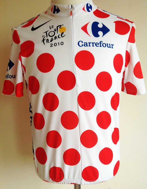 Maillot à pois Tour de France 2010