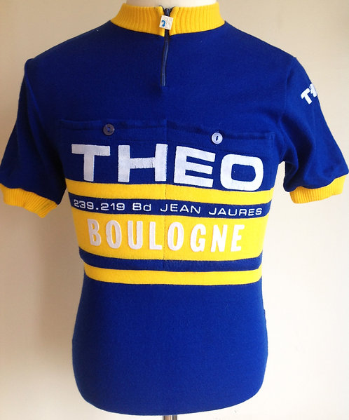 Maillot cycliste vintage THEO Boulogne