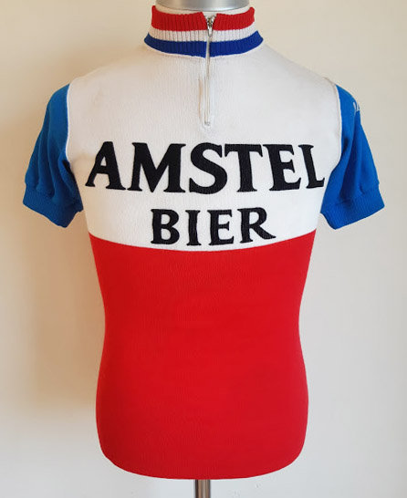 Maillot cycliste vintage Amstel Bier