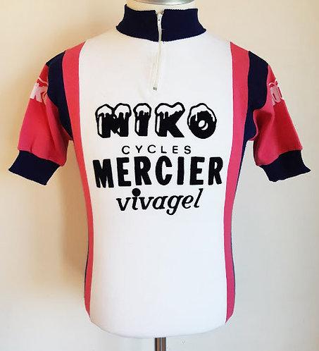 Maillot cycliste vintage Miko Mercier Vivagel