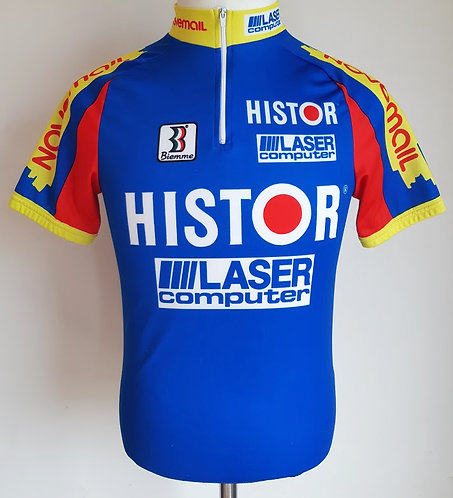 Maillot cycliste équipe Novemail Histor Laser Computer
