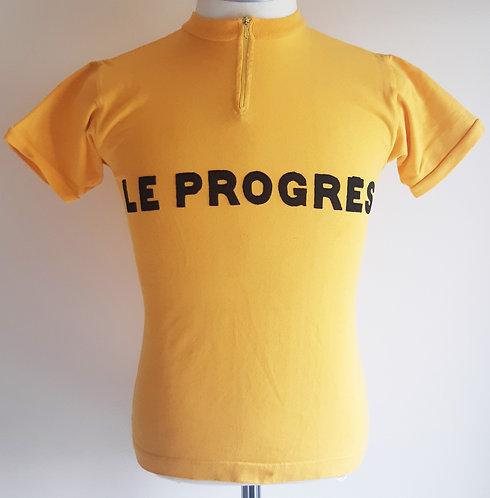 Maillot cycliste vintage Le Progrès