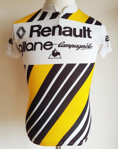 Maillot cycliste Renault Gitane 1979 - M