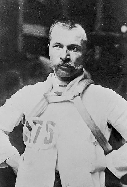 Maurice Garin, vainqueur de l'An I du Tour de France.