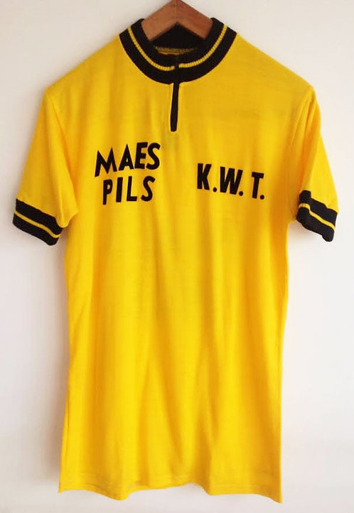 Maillot cycliste vintage Mae Pils