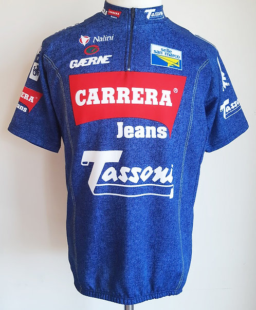 Maillot cycliste équipe Carrera Tassoni
