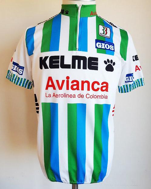 Maillot cycliste Kelme Avianca