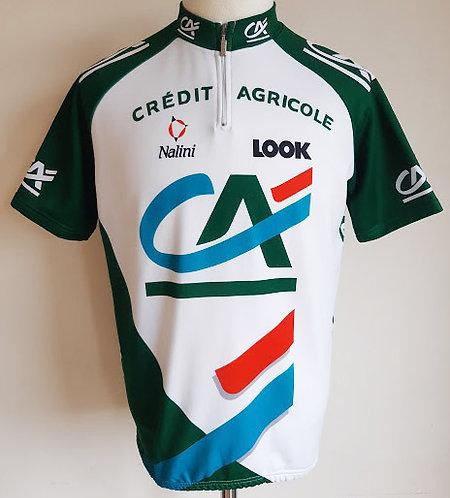 Maillot cycliste équipe Crédit Agricole