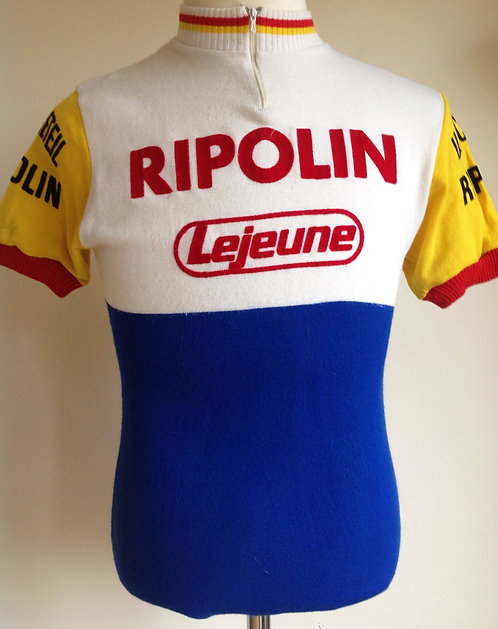 Maillot cycliste Ripolin Lejeune